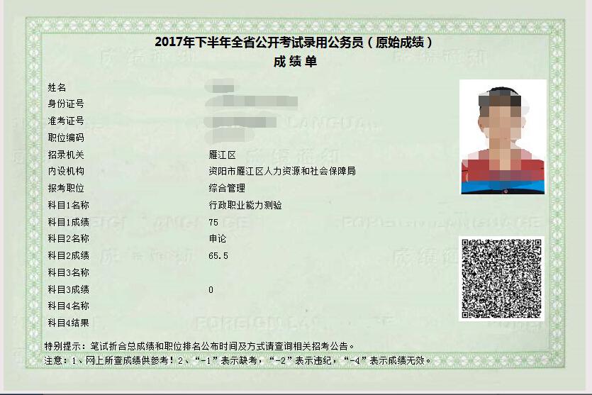 四川省公务员考试成绩【相关词_ 四川人事考试